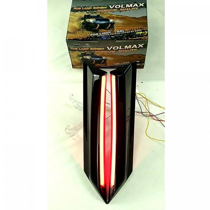 Kia Seltos LED Rear Pillar Cluster Light - By Volmax (Set Of 2Pcs.)