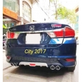 Sporty Rear Diffuser For Honda City New 2017-2020