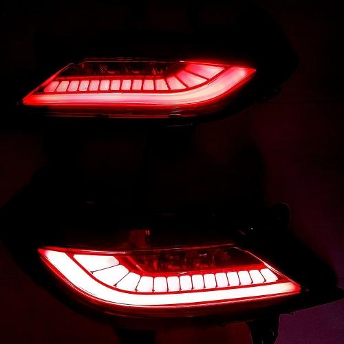 Hyundai New Generation Creta 2020 Bumber Reflector Lights with Matrix Moving Function - By Volmax (Set of 2Pcs.)