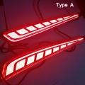 Hyundai i20 New 2020 Bumper LED Reflector Lights With Matrix Moving Style (Set of 2Pcs.)