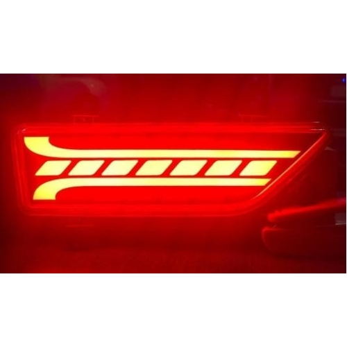 Mahindra Xuv 300 Bumper LED Reflector Lights (Set of 2Pcs.)