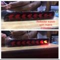 Maruti New Ertiga 2018 Bumper LED Reflector Lights Moving Matrix Arrow Design (Set of 2Pcs.)