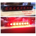 Maruti Suzuki Ertiga Bumper LED Reflector Lights Moving Matrix in Arrow Design (Set of 2Pcs.)