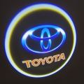 Wireless Car Welcome Logo HD Shadow Projector Ghost Lights Kit For Toyota All Cars Set Of 2