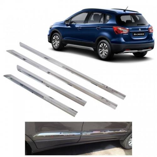 Maruti Suzuki S Cross Door Chrome Side Beading