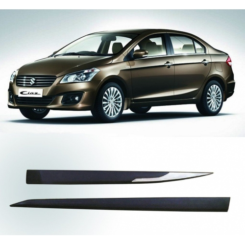 Maruti Suzuki Ciaz Door Side Beading (Black & Chrome)