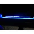 Car Door LED Light Scuff Sill Plate Guards for Maruti Suzuki Vitara Brezza (Set of 4Pcs.)