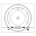 """JBL Edge Driven Balanced Dome Tweeter 3/4"""" 270W Club Series - CLUB750T (Set Of 2)"""