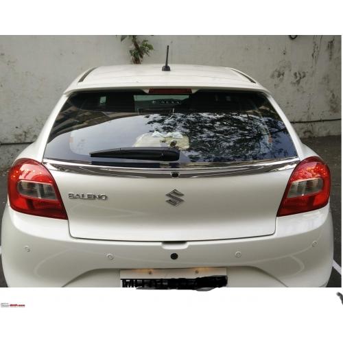Maruti Suzuki Balneo Rear Dicky Chrome Spoiler