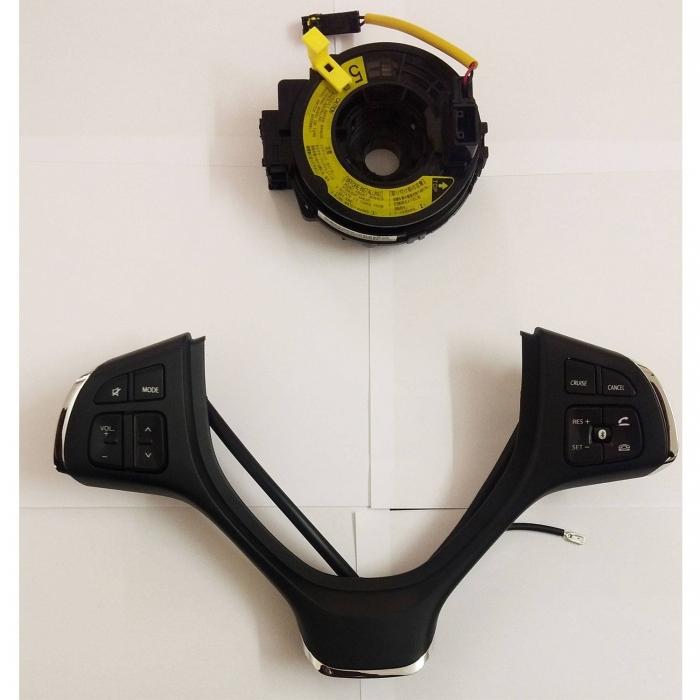 Maruti Vitara Brezza Steering Wheel Music Control Button