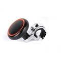 Puzzle Car Power Steering Handle Spinner Knob Black and Orange