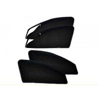 Car Zipper Magnetic Window Sunshade