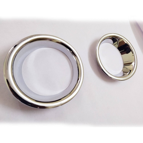 Toyota Fortuner Old Type-2 Fog Lamp Chrome Ring Cover Trim Set Of 2