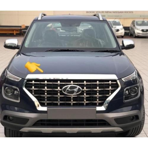 Hyundai Venue Chrome-Front Bonnet Trim in (Set Of 1Pcs.)
