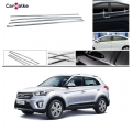 Hyundai Creta Lower Window Chrome Garnish Trims (Set Of 6Pcs.)