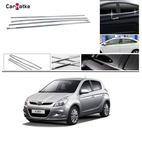 Hyundai I20 Old Lower Window Chrome Garnish Trims (Set Of 4Pcs.)