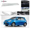 Toyota Etios Liva Lower Window Chrome Garnish Trims (Set Of 4Pcs.)