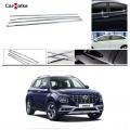 Hyundai Venue Lower Window Chrome Garnish (Set of 4Pcs.)
