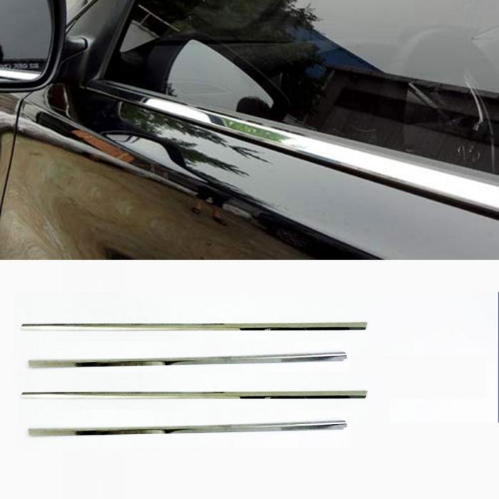 Honda Civic 2010 Lower Window Chrome Garnish Trims (Set Of 4Pcs.)