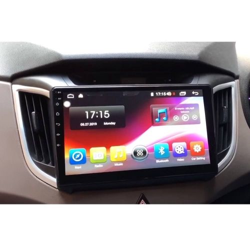 Hyundai Creta 2018 10.2 Inches HD Touch Screen Android Stereo (2GB, 16GB) with Stereo Frame By Hypersonic