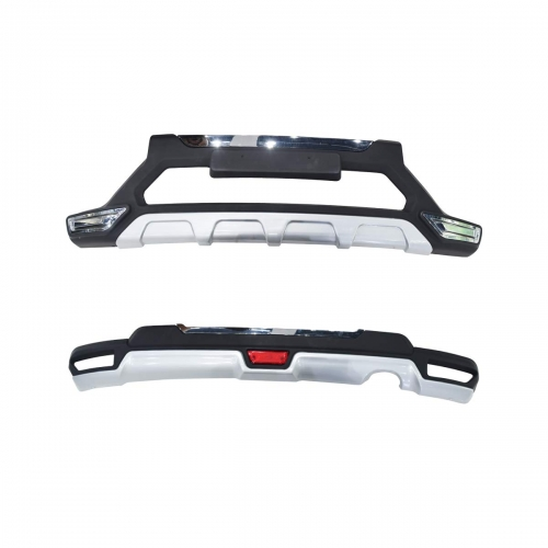 Honda BRV Nudge Front and Rear Bumper Guard Protector in High Quality ABS Material