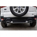 Ford Eco Sports 2018 Front and Rear Bumper Guard Protector in High Quality ABS Material