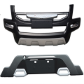 Ford Ecosport Nudge Front and Rear Bumper Guard Protector in High Quality ABS Material