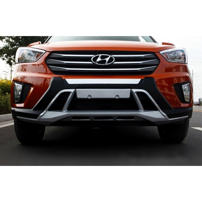 Hyundai Old Creta Front and Rear Bumper Guard Protector in High Quality ABS Material