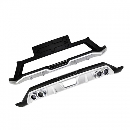 Kia Seltos Front and Rear Bumper Guard Protector in High Quality ABS Material