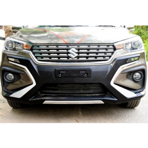 Maruti Suzuki Ertiga 2018-2021 Front and Rear Bumper Guard Protector in High Quality ABS Material
