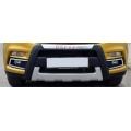Maruti Suzuki Vitara Brezza Front and Rear Bumper Guard Protector in High Quality ABS Material