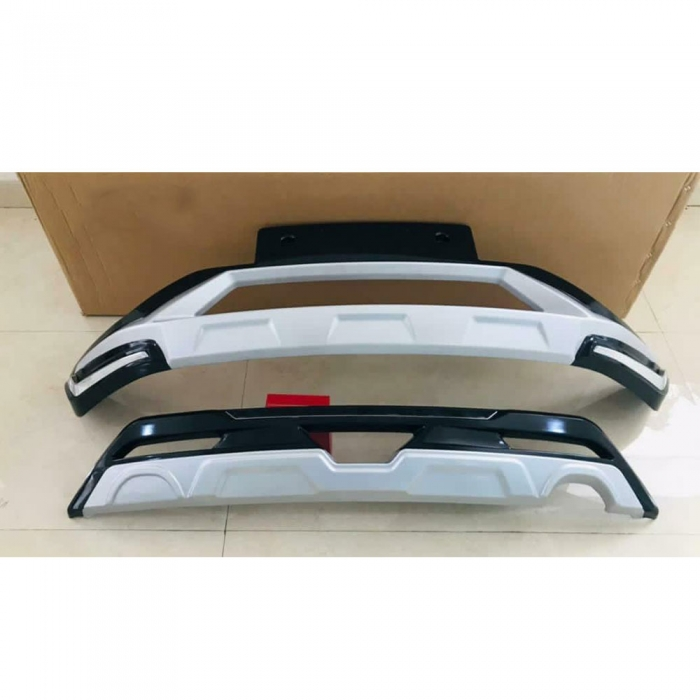 Tata Altroz Front and Rear Bumper Guard Protector in High Quality ABS Material
