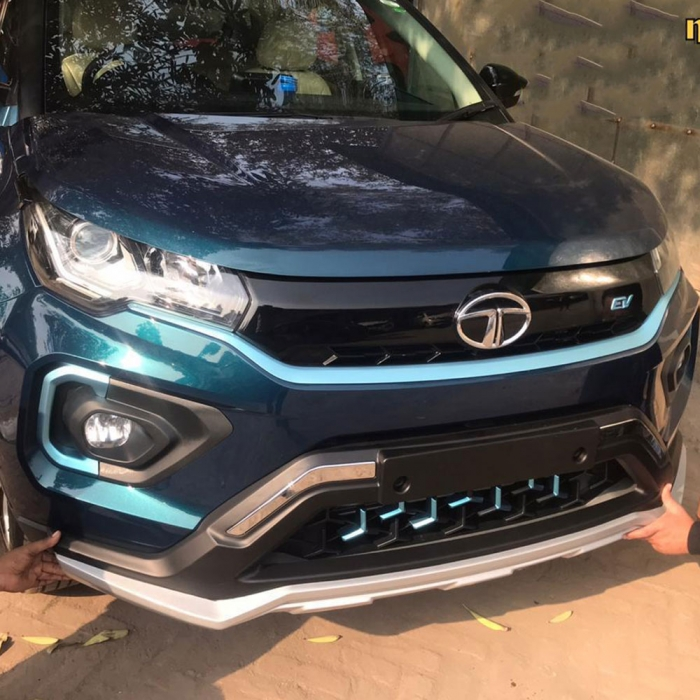 Tata Nexon Front Bumper Guard Protector in High Quality ABS Material
