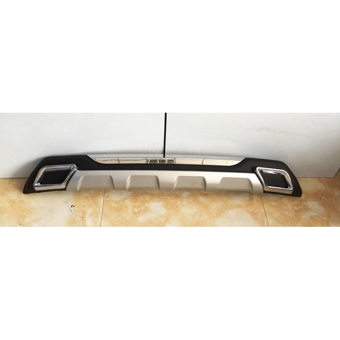 Toyota Fortuner 2015-2020 Front and Rear Bumper Guard Protector in High Quality ABS Material