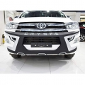 Toyota Innova Crysta Front and Rear Bumper Guard Protector in High Quality ABS Material