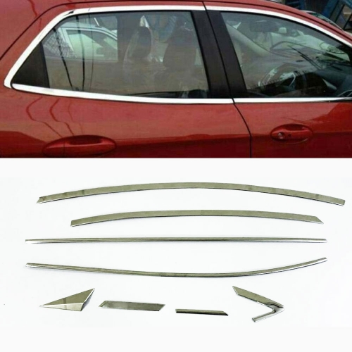 Hyundai Elantra Full Window Chrome Garnish Trims (Set Of 16Pcs.)