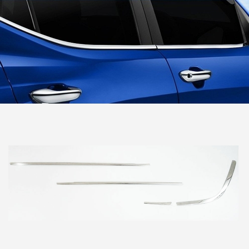 Maruti Ertiga Lower Window Chrome Garnish Trims (Set Of 8Pcs.)