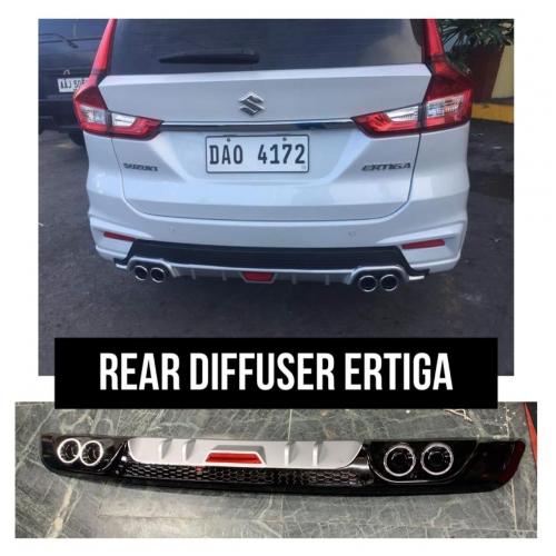 High Quality ABS Rear Diffuser For Maruti Suzuki Ertiga 2018 Model