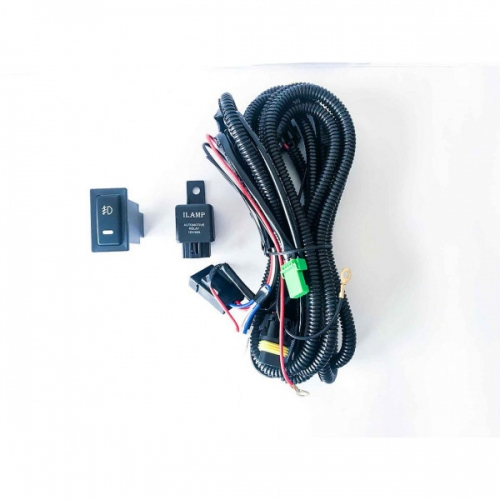 Fog Lamp Wiring Kit With Switch and Relay for All Kia Cars
