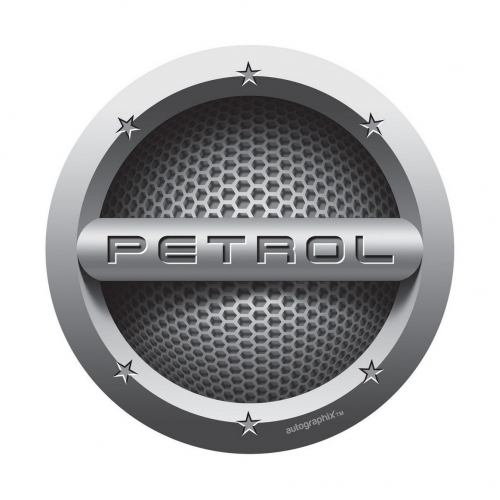 Autographix 226753A Petrol Lid C037 Fuel Badge Sticker
