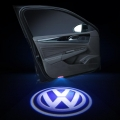 Wireless Car Welcome Logo Shadow Projector Ghost Lights Kit For Volkswagen Polo All Models (Set Of 2Pcs.)