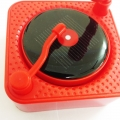 Carhatke Gramophone Style Solar Power Car Aroma Freshener and Dancing in The Sunshine for Car Dashboard/Home and Office