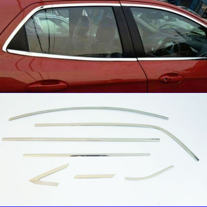 Toyota Innova Full Window Chrome Garnish Trims (Set Of 20Pcs.)