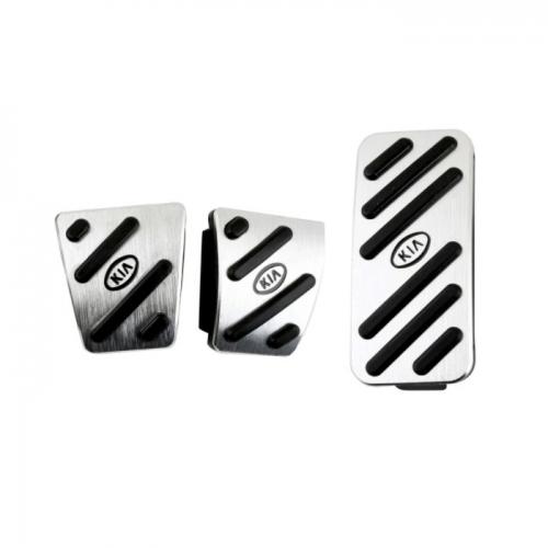Kia Pedal Cover Kits (Set of 3Pcs.)