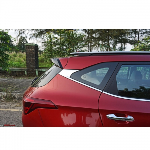Kia Seltos Lower Window Chrome Garnish Trims (Set Of 6Pcs.)