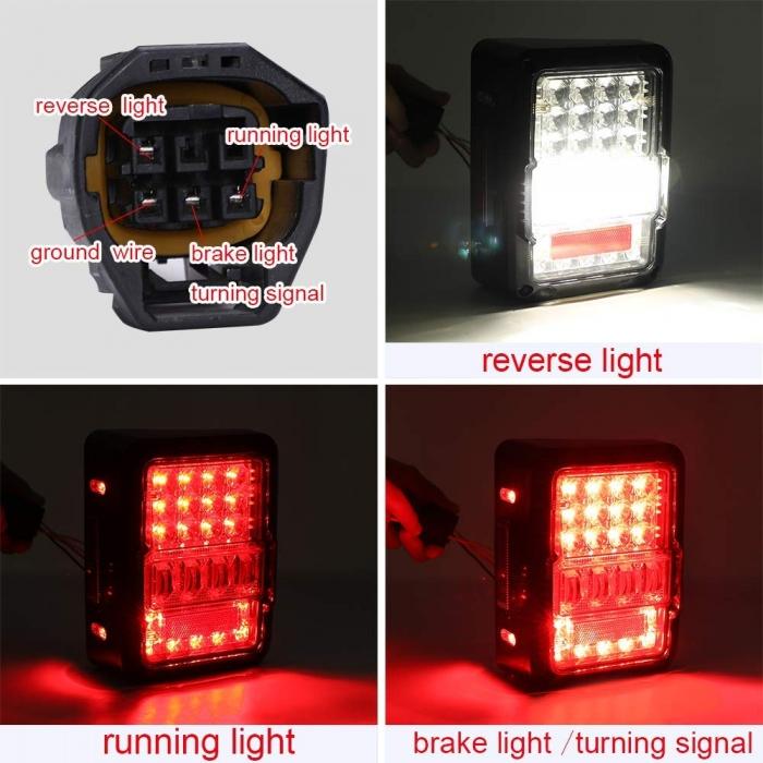 Mahindra Thar 2010-2020 Tail Light/Lamp Matrix Indicator Edition