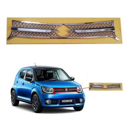 Custom Style Front Chrome Grill For Maruti Ignis