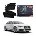 Audi A6 Car Zipper Magnetic Window Sun Shades Set Of 2
