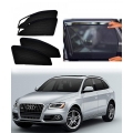 Audi Q5 Car Zipper Magnetic Window Sun Shades Set Of 4