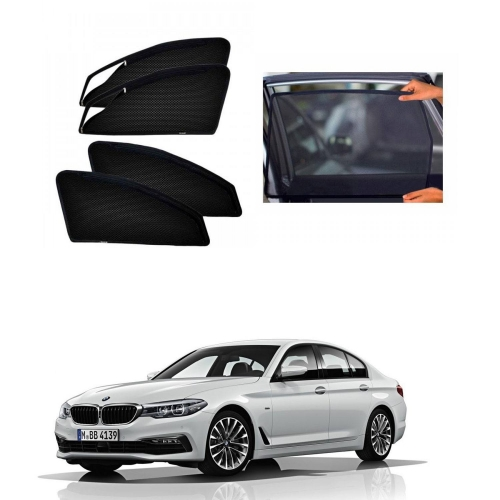BMW 520D Car Zipper Magnetic Window Sun Shades Set Of 4